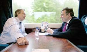 Tony Blair and Gordon Brown
