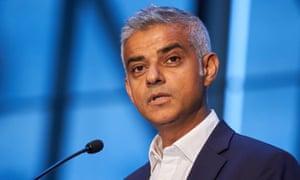 London mayor, Sadiq Khan