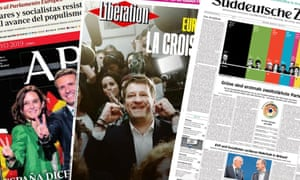 Front pages from the European papers from Monday 27 May 2019