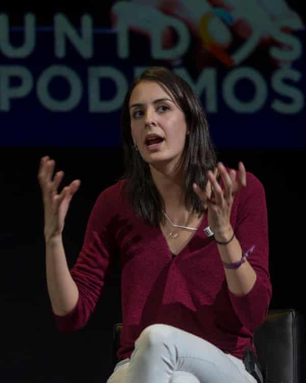 Madrid councillor Rita Maestre