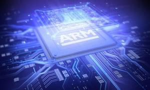 ARM Holdings microchip