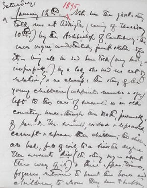 Messy Attics Of The Mind Whats Inside A Writers Notebook  Henry James Wrote In His Notebook About The Evening When The Archbishop Of  Canterbury Told Him