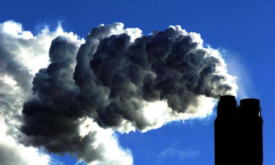 A coal power plant