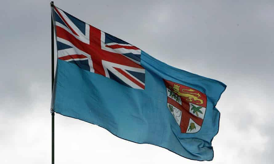 The Fijian flag flying in Suva. The Union Jack is to remain part of the design.