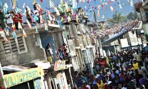Protest Haiti.