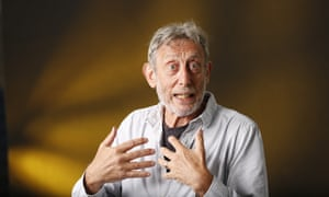 Michael Rosen: 'Tender and tetchy.'
