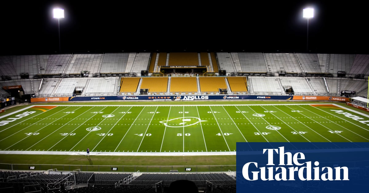 'It was really sad': inside the disastrous downfall of the Alliance of American Football