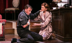 Alastair Whatley and Olivia Hallinan in Flare Path.