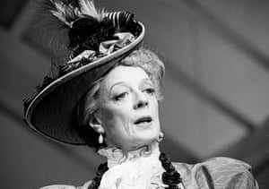 Maggie Smith in the Importance Of Being Earnest at the Aldwych theatre, 1993