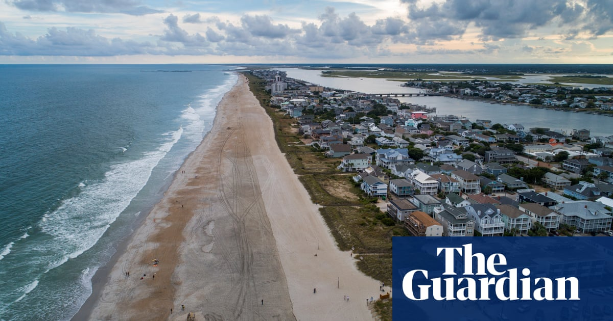 Beach rebuilding efforts won't stave off climate change impacts forever | US news | The Guardian