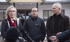 Frank Alec, who goes by the name Woos, called the agreement 'quite a milestone'. He said: 'As Wet'suwet'en, we are the land, and the land is ours.'
