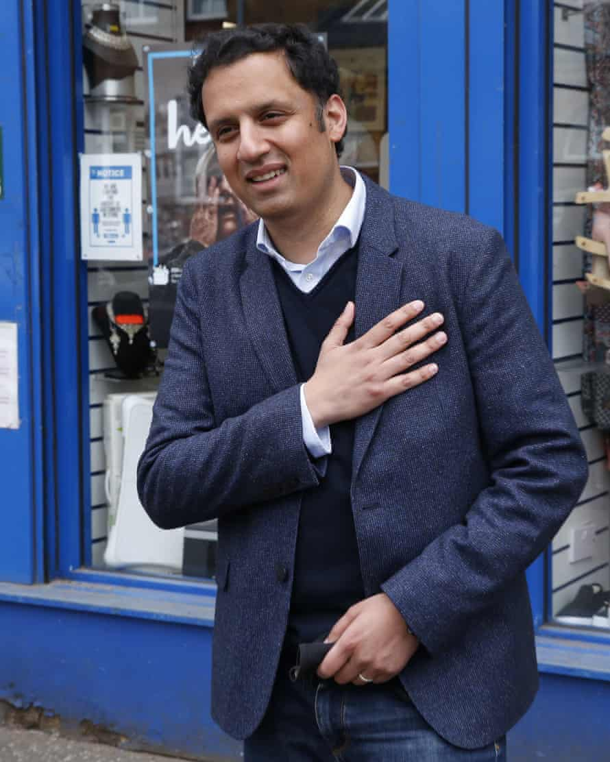 Anas Sarwar: 'I would always describe myself as a Scot first, but what I think the SNP has successfully done is to capture that identity.'