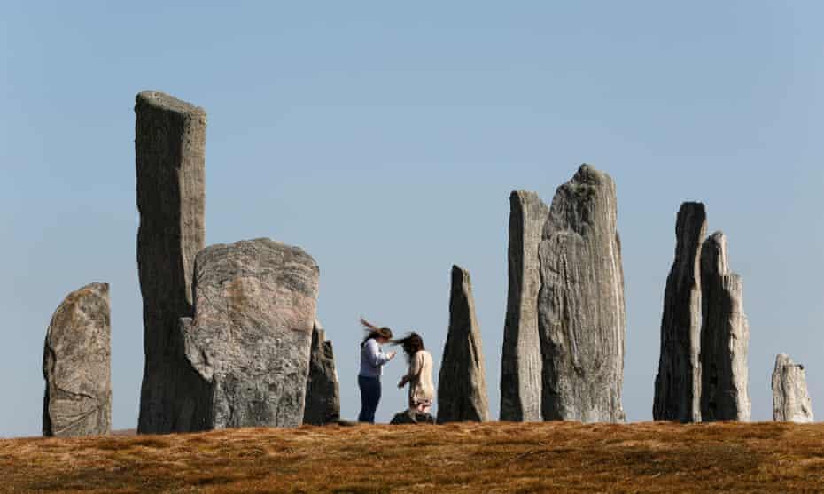 The Callanish standing stones.