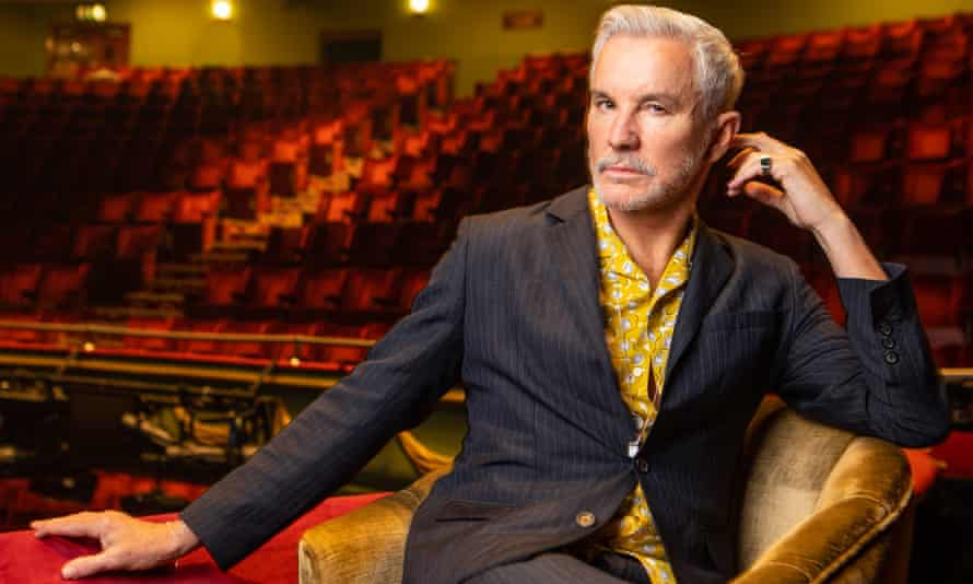 'People don't come to the theatre to watch you be careful' … Baz Luhrmann at the Piccadilly theatre, London.