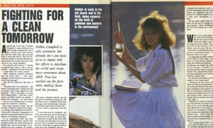 The Sunday Times magazine's interview with Debbie Campbell from August 1989.