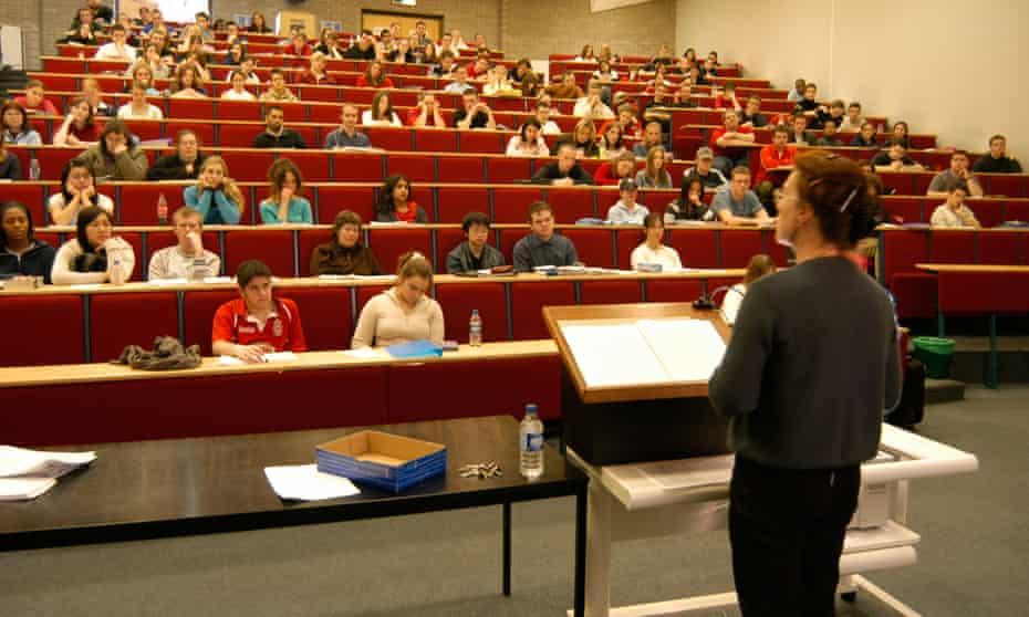 A university lecture