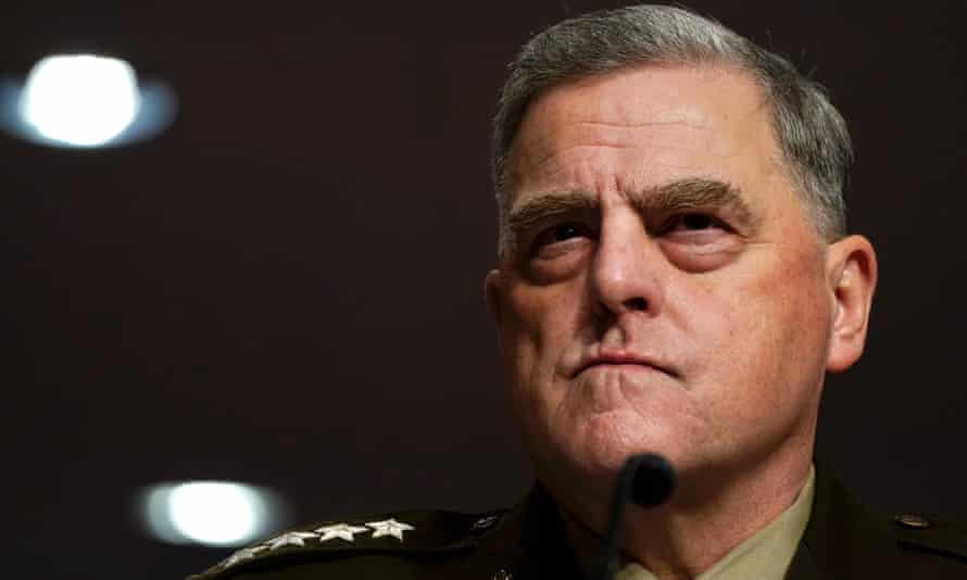 Gen Mark Milley on hearing became a postmortem in the 20-year war that preceded the US to Afghanistan.