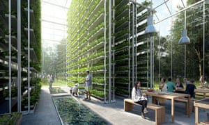 The ReGen eco village, planned for Amsterdam. Now, US landowners say they want to get in on the action too.