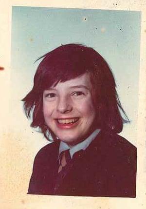 Gerry Potter as a boy