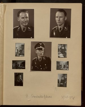 A page from Charlotte's photograph album.