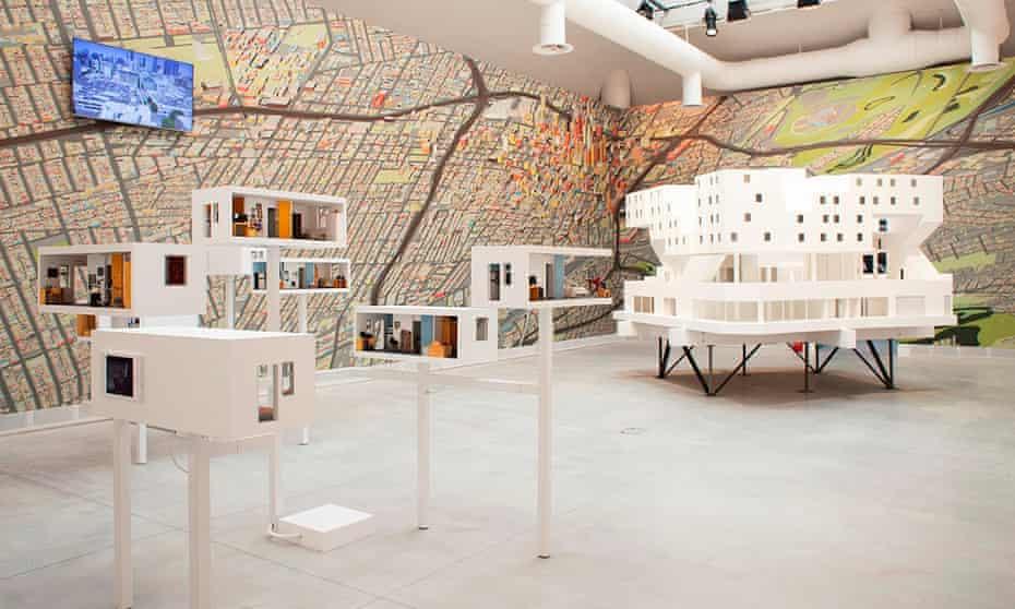 Spatial logic … Michael Maltzan's 'intermediate housing project', the modular Star Apartments.