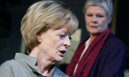 Maggie Smith, foreground, and Judi Dench in The Breath of Life, directed by Howard Davies at the Theatre Royal Haymarket, London, in 2002.
