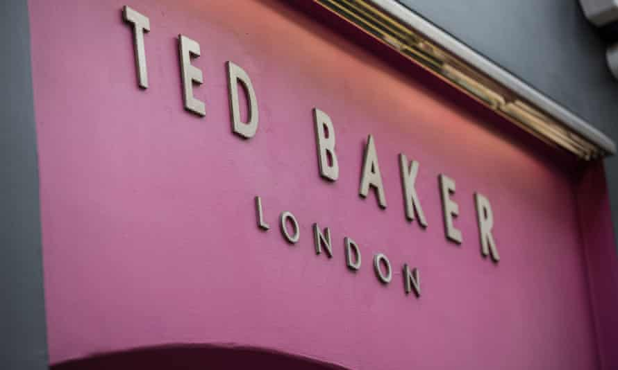 Ted Baker shop in Covent Garden