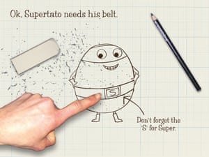 How to draw Supertato14