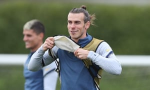 José Mourinho said the data showed Gareth Bale 'is arriving' for Tottenham and will start against Antwerp in their Europa League match.