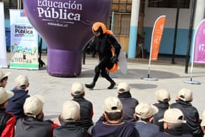 Campaigners have been raising awareness about the threat to Chile's native bumblebee (Bombus dahlbomii).