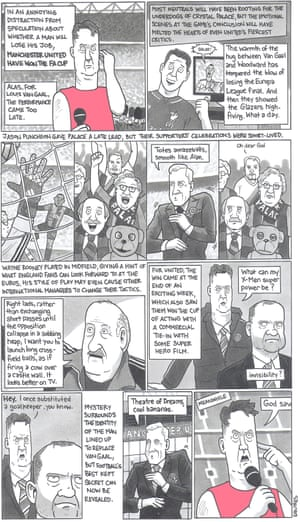 David Squires on … the end for Louis van Gaal at Manchester United.