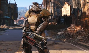 A still from Fallout 4.