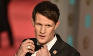Matt Smith at the Bafta awards this year – he will take on your questions in a live webchat.