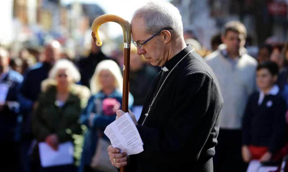 Justin Welby wants management courses for bishops