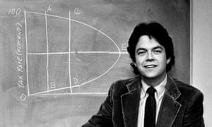 Laffer's career has been heavy on punditry, light in academic rigor, and absolutely destructive for the average American and the long-term health and sustainability of our economy.