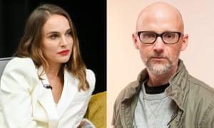 Natalie Portman and Moby.