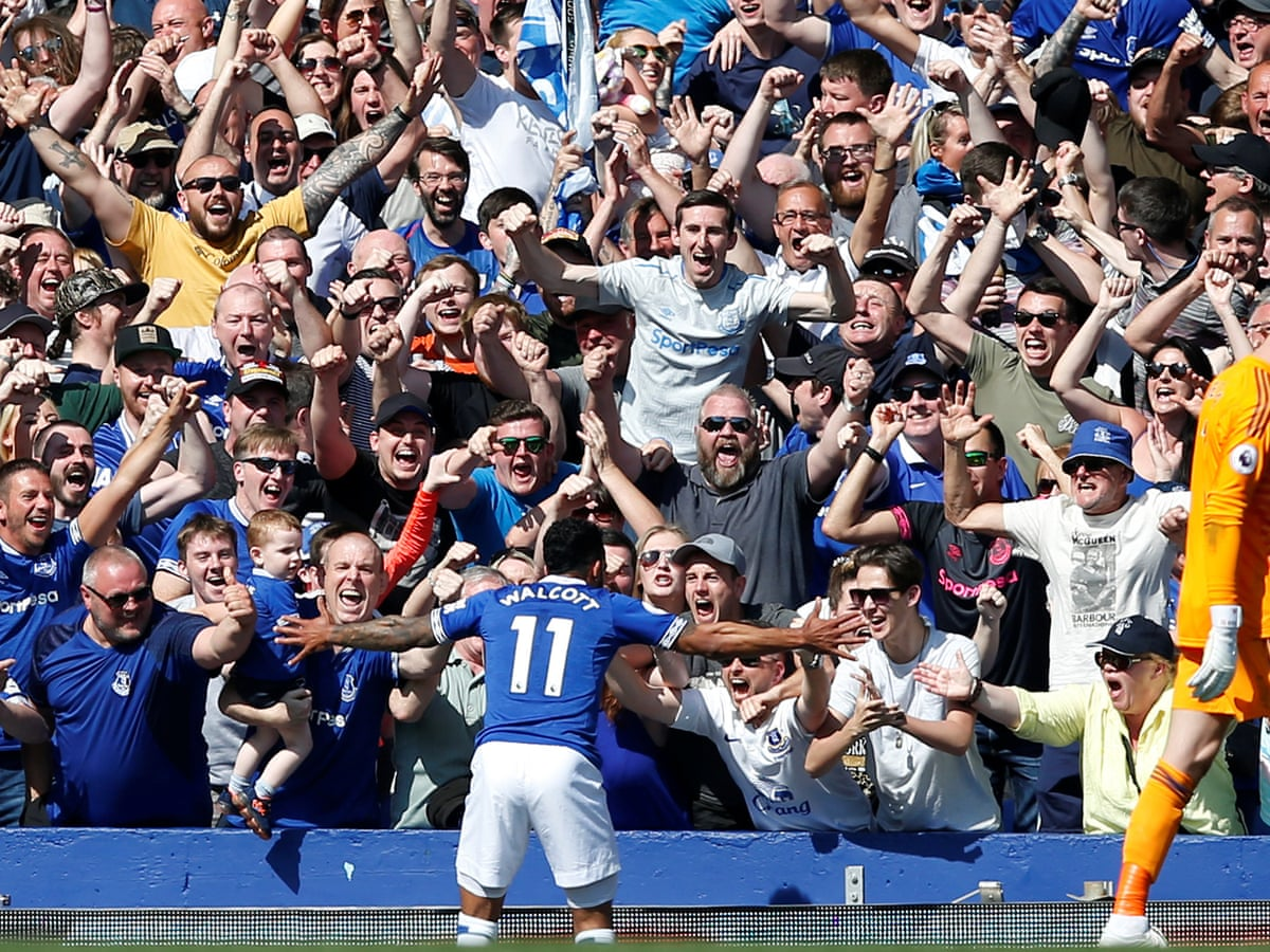 Everton 4 0 Manchester United Premier League As It Happened Football The Guardian