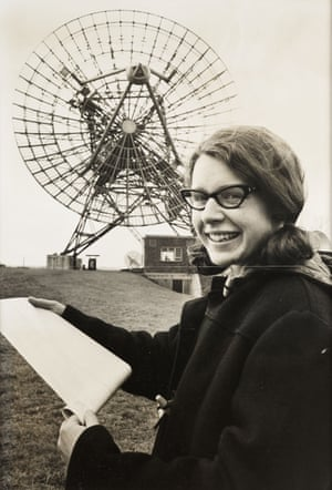 Jocelyn Bell Burnell at the Mullard Radio Astronomy Observatory at Cambridge University, in 1968.