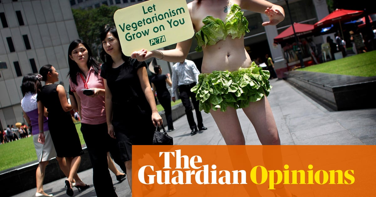 Are vegetarianism about not harming animals, or feeling morally