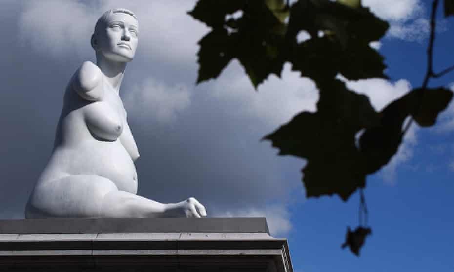 'This reaches everyone' … Quinn's fourth plinth statue Alison Lapper Pregnant in 2004.