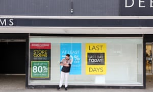 'Every time we hear of another big store closing down we know there will be another boarded-up high street.'