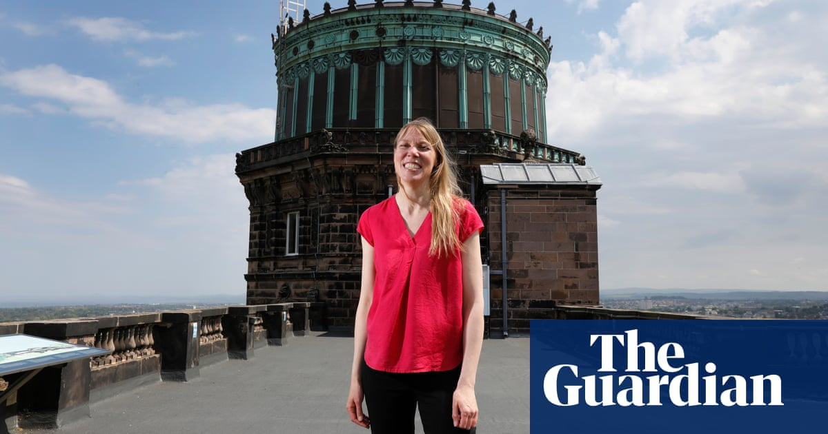 Scotland's first female astronomer royal looks to open the universe to all
