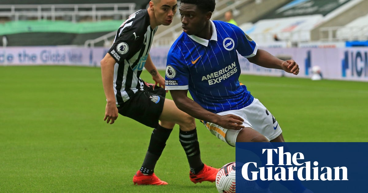 Tariq Lamptey dazzles in Brightons win at Newcastle but Bissouma sent off