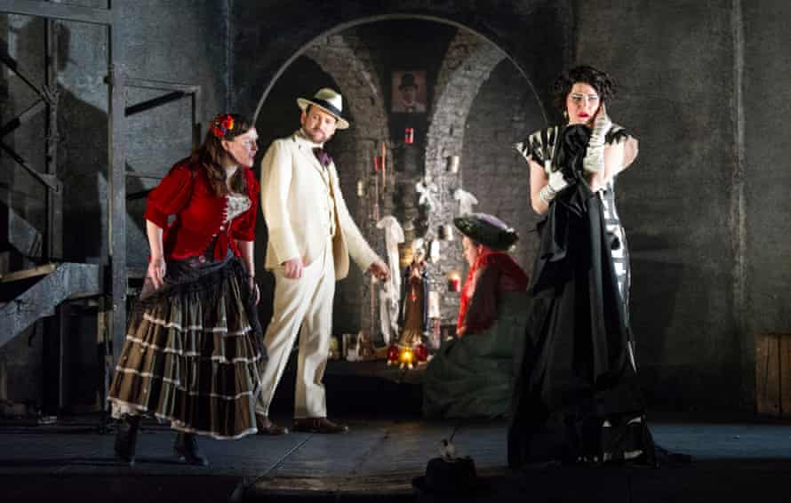 'Beautifully acted' … Lucy Hall, Robyn Lyn Evans, Camilla Roberts and Ania Jeruc as Donna Elvira in Don Giovanni.