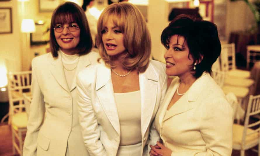 A scene from The First Wives Club with Diane Keaton, Goldie Hawn and Bette Midler