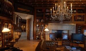 Lavish interior … inside the House of Palestine.