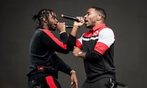 Krept and Konan at the Reading festival in August 2018