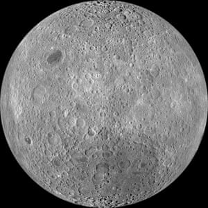 Because the moon is tidally locked, it was not until 1959 that the far side was first imaged by the Soviet Luna 3 spacecraft (hence the Russian names for prominent far side features, such as Mare Moscoviense).