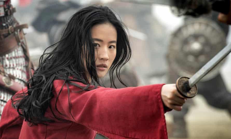 On hold … Disney's live-action remake of Mulan.