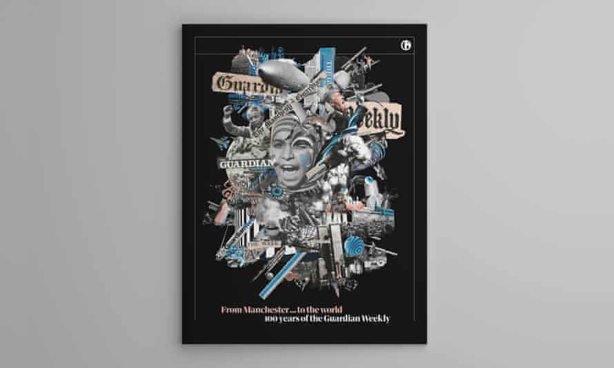 The cover of the Guardian Weekly's 100th anniversary supplement